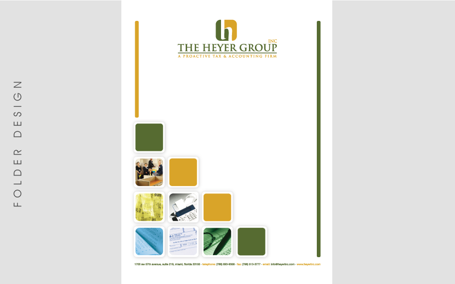 Folder Design The Heyer Group