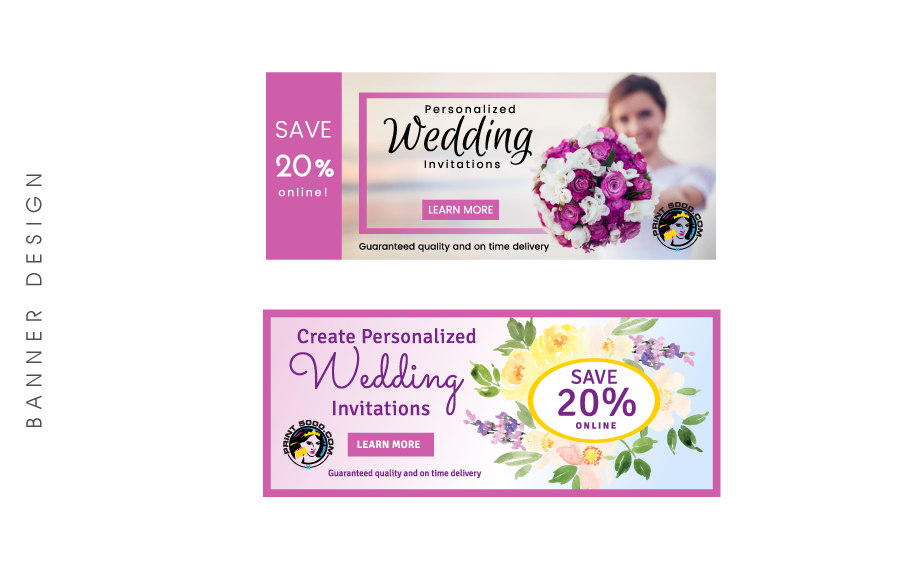 Design graphique wedding