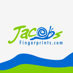 Logo Design Jacob's Fingerprints.com