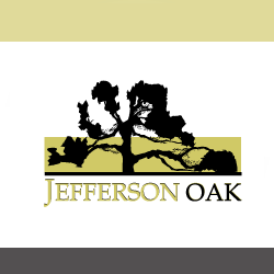 conception de logo Jefferson Oak