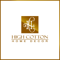 Great Logo Design For High Cotton Home Decor Company