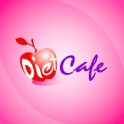 Logo Design Diet Cafe