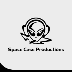 Logo Design Space Case Productions