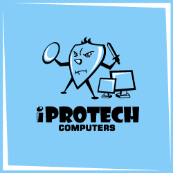 Logo Design iProtech Computers