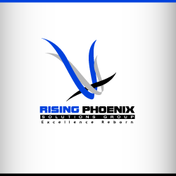 conception de logo Rising Phoenix
