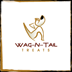 conception de logo Wag-N-Tail Treats
