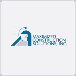 Logo Design Maximized Construction Solutions