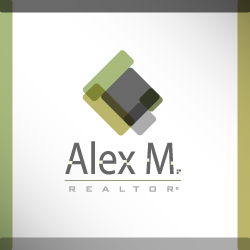 conception de logo Alex M. Realtor