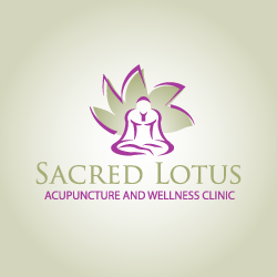 Logo Design Sacred Lotus