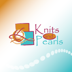 Logo Design Knits and Pearls