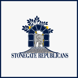 Logo Design Stonegate Republicans