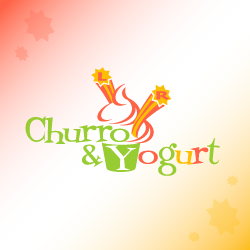 Logo Design Churro & Yogurt