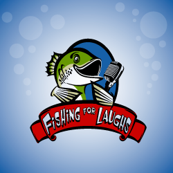 Logo Design Fishing For Laughs