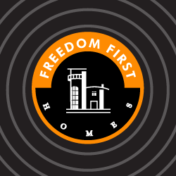 Logo Design Freedom First Homes