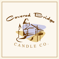 Logo Design Covered Bridge Candle Co