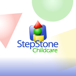 Logo Design Step Stone Childcare