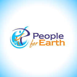 Logo Design People For Earth