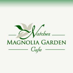 Conception De Logo Pour Natchez Magnolia Garden Cafe