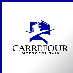Logo Design Carrefour Metropolitain