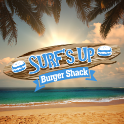 conception de logo Surf's Up