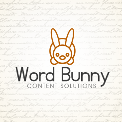 logo design Word Bunny