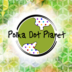 conception de logo Polka Dot Planet