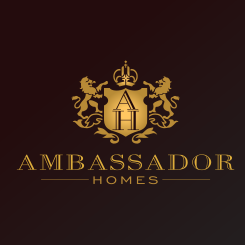 conception de logo Ambassador Homes