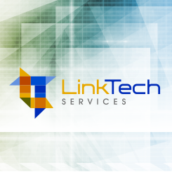 logo design LinkTech Services