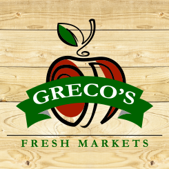 logo design Greco's Fresh Markets