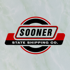 logo design Sooner State Shipping