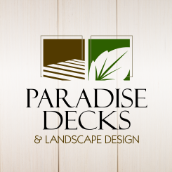 logo design Paradise Decks