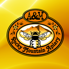 logo design Rocky Mountain Apiary