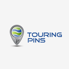 logo design Touring Pins