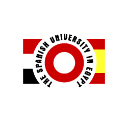 logo design  Spanish University in Egypt