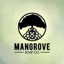 logo design Mangrove Soap