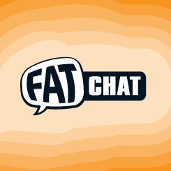 logo design FAT chat