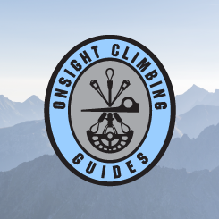 logo design Onsight Climbing Guides