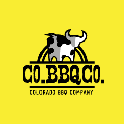 conception de logo CO BBQ CO