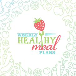 logo design Weekly Heathy Meal