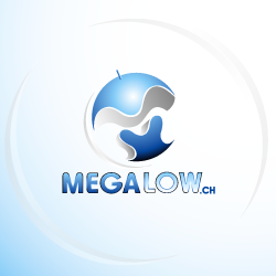 conception de logo Megalow.ch