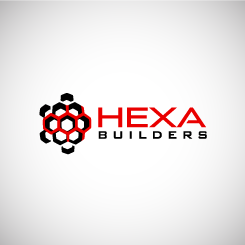 logo design HEXA builders