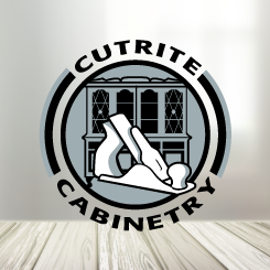 conception de logo Cutrite Cabinetry