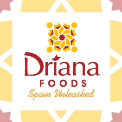 conception de logo Driana Foods
