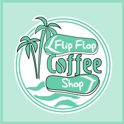 logo design Flip Flop Coffee Shop