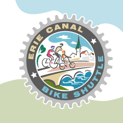 logo design Erie Canal Bike Shuttle