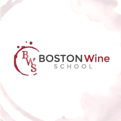 logo design Boston Wine School