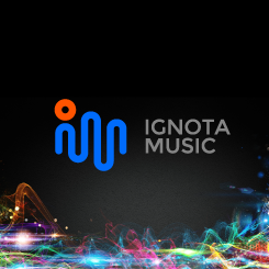conception de logo Ignota Music