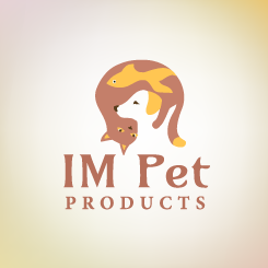logo design IM Pet Products