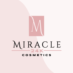 logo design MIRACLE 24K Cosmetics