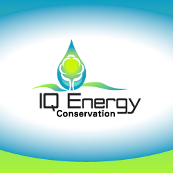logo design for iq energy conservation company